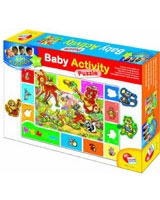 Baby Gnius Activity Puzzle Wood - Lisciani Goichi