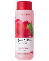 Love Nature Face Wash Raspberry - Oriflame