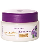 Love Nature Anti-Ageing Day Cream SPF 10 - Oriflame