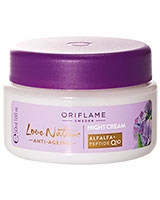 Love Nature Anti-Ageing Night Cream - Oriflame