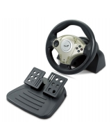 Twin Wheel F1 Vibration Feedback Racing Wheel - Genius