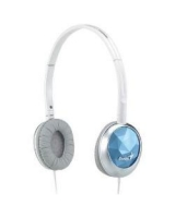 Stylish headphones for music GHP-400S Blue - Genius
