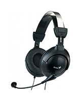 Big Earcup Pc Headset With Volume Control HS-505X - Genius