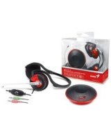 Mini Portable Speaker with Foldable Headset Audio Combo 150 - Genius