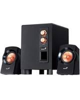 Powerful 3-Piece Speaker System SW-2.1 360 - Genius