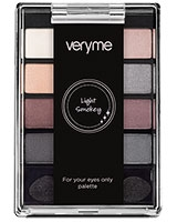 Very Me Light Smokey Palette For your eyes only - Oriflame
