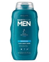 North for Men Original Hair & Body Wash - Oriflame