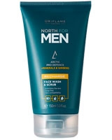 North for Men Recharge Face Wash & Scrub - Oriflame