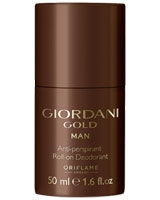 Giordani Gold Man Anti-perspirant Roll-On Deodorant - Oriflame
