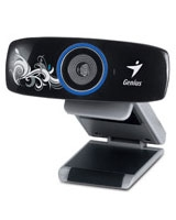 Elegant High-Definition Webcam FaceCam 1020 Tattoo - Genius