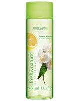 Fresh & Nature Lemon & Jasmine Tea Eau De Cologne - Oriflame