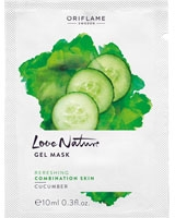 Love Nature Gel Mask Cucumber - Oriflame
