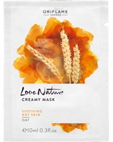 Love Nature Creamy Mask Oat - Oriflame