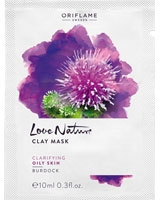 Love Nature Clay Mask Burdock - Oriflame