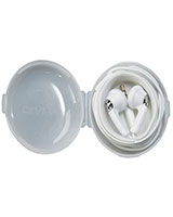 Earbuds With Carrying Case White - Auvio