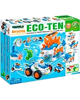 Greenex Eco Ten Solar And Generator - Amazing Toys