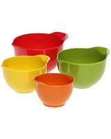 Set of 4 measuring cups Bamboo & Melamine - Trudeau