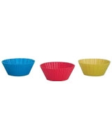 Set of 12 Silicone Muffin Cups 5 cm - Trudeau