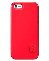 Case Scenario Iphone 5/5s Skin & Bones Protective Cover Red - Case Scenario