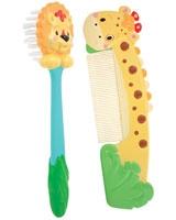 Soft Grip Comb & Brush 38000 - Sassy