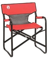 Portable Deck Chair Red - Coleman