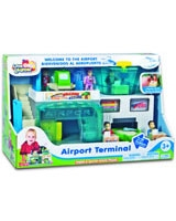 Airport Terminal Activity Playset - Happy Kid