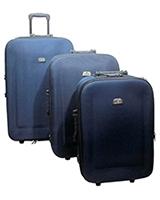 Jiaxin Travel Set Bag 3 Pieces Blue