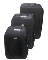 Binpeng Travel Set Bag 3 Pieces Black