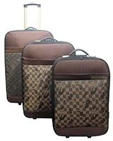 Ginlaidi Travel Set Bag 3 Pieces Beige