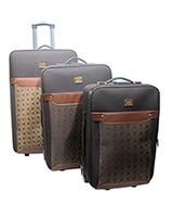 Jiaxin Travel Set Bag 3 Pieces Beige S