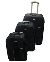 Jiaxin Travel Set Bag 3 Pieces Black
