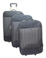 Gemulan Travel Set Bag 3 Pieces Black Gery