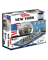 New York City Time Puzzle - 4D City Scape