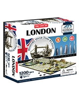 London City Time Puzzle - 4D City Scape