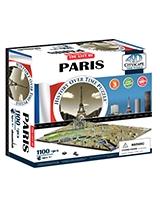 Paris City Time Puzzle - 4D City Scape