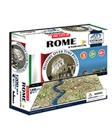 Rome City Time Puzzle - 4D City Scape
