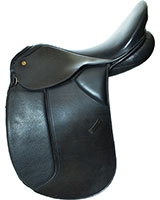 Horse Saddle Black 204 Genuine Leather