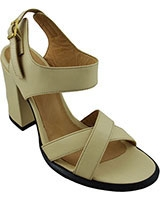 Wide Heeled Sandal 12/56 7cm Off White - Oryx