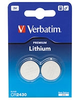 3V Lithuim Battery CR2430 - Verbatim