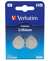 3V Lithuim Battery CR2450 - Verbatim