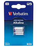 12V Alkaline Battery 23AE (MN21) - Verbatim