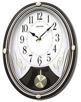 Wall clock 4MJA04WR06 - Rhythm