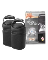2 Insulated Bottle Carriers - Tommee Tippee