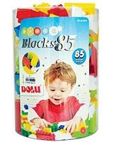 Color Blocks 85 Pieces - Dolu