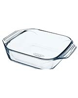 Optimum Glass Square Roaster 23 cm - Pyrex