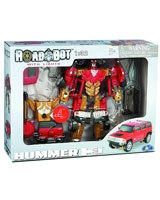 Hummer H3 Roadbot With Light - Happy Well