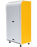 Medium Rolling Cabinet Yellow - Rolling-C