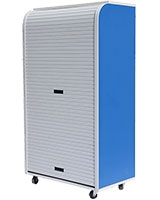 Medium Rolling Cabinet Blue - Rolling-C