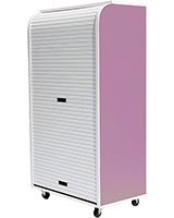 Medium Rolling Cabinet Purple - Rolling-C