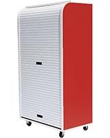 Medium Rolling Cabinet Red - Rolling-C